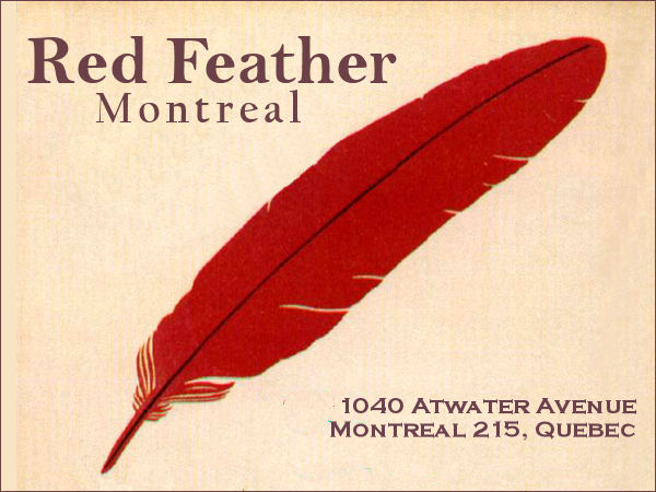 Red Feather - Montreal logo, circa 1960