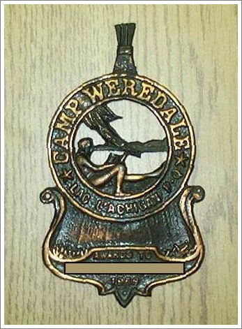 The Camp Weredale Award - 1965.